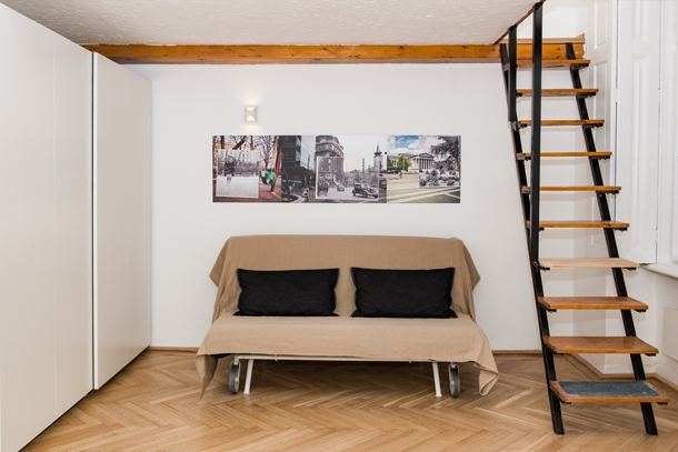 Details, pictures and price of the apartment Rigoletto - Erzsebet krt 40, Budapest n.3