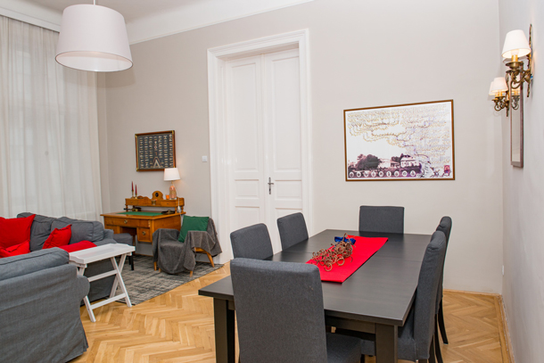 Details, pictures and price of the apartment Bach - Vorosmarty 58, Budapest n.5